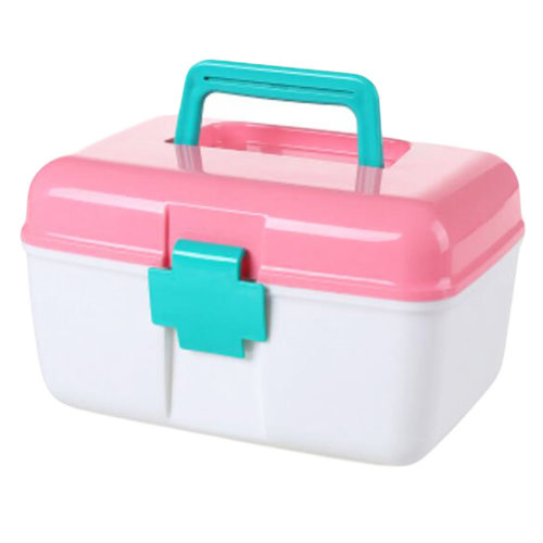 First-Aid Kits/Medicine Storage Case/Pill Box/Container-Pink