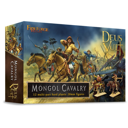 Mongol Cavalry - 28mm multipart figures - FireForge FFG009 - Free post P3