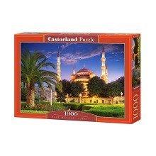 Csc103386 - Castorland Jigsaw 1000 Pc - Blue Mosque, Turkey