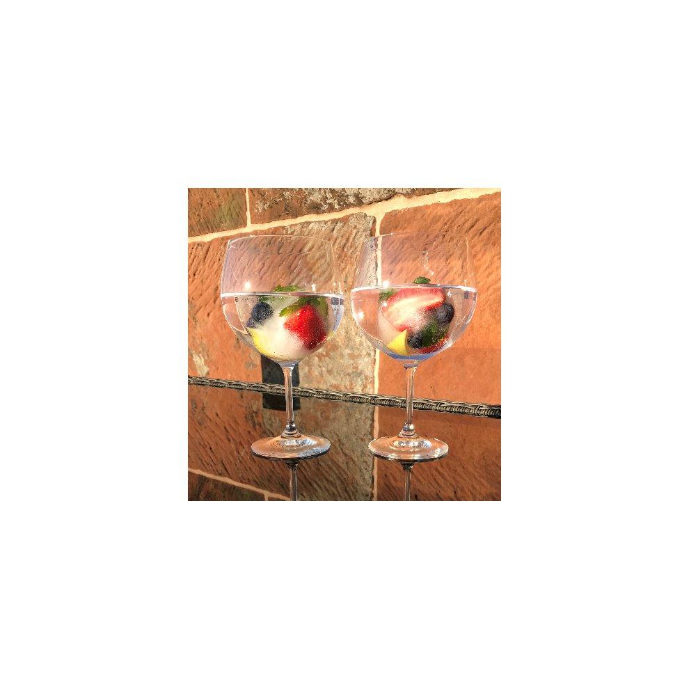 Bohemia Crystal Gin And Tonic Tail Balloon Gles Gift Set Of 2