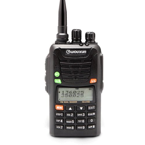 Wouxun KG-UV6D Handheld 66-88MHz/136-174MHz Dual Band Two Way Transceiver(Upgrade Version)