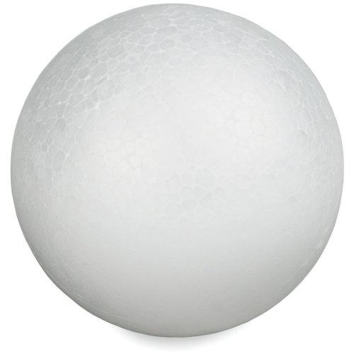 "Smooth Styrofoam Balls 6""-"