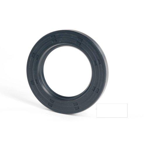 6x12x2mm Oil Seal Nitrile R21 Single Lip Springless 2 Pack