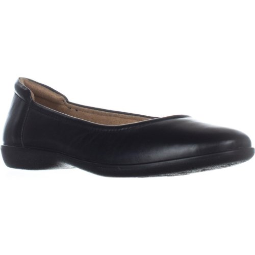 naturalizer Flexy Comfort Flats, Black, 6 UK