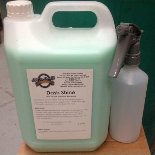DASH SHINE NON-SILICONE DASH SHINE / RENOVATOR 5L + SPRAY BOTTLE
