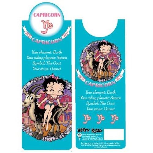Betty Boop Capricorn Bookmark