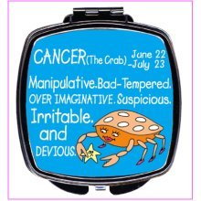 Cancer Compact Mirror