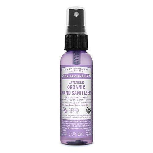 Dr. Bronner   Organic Lavender Hand Sanitising Spray 60ml