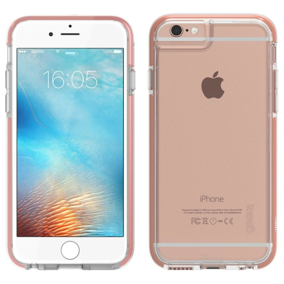 new arrival f5223 071b9 Rose Gold Piccadilly Case Cover for iPhone 6 / 6S D3O Impact Protection by  Gear4