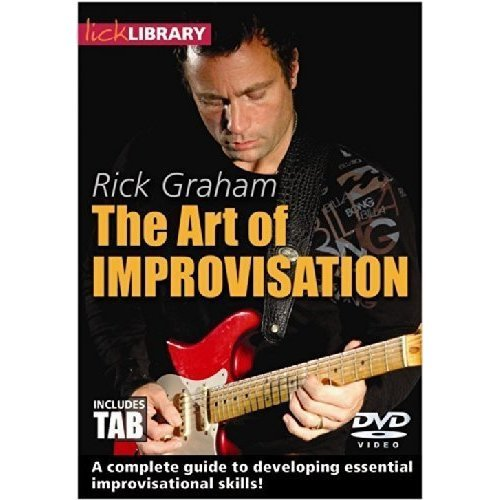 LICK LIBRARY THE ART OF IMPROVISATION BY [DVD]