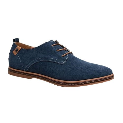 NEW Suede European style genuine leather Shoes Men's casual sneakers for Men Flats shoes