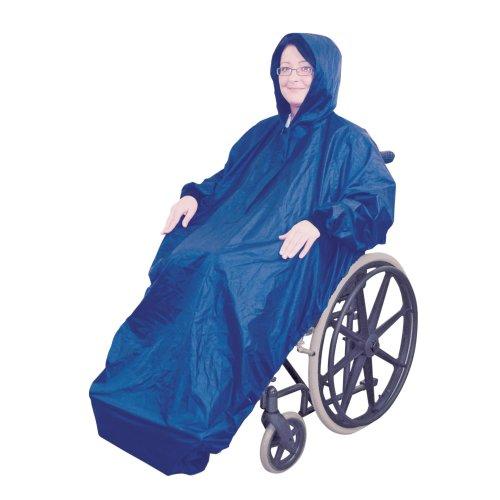Fleece Lined Wheelchair Mac with Sleeves