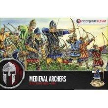 Conquest Games Medieval Archers - 28 plastic models