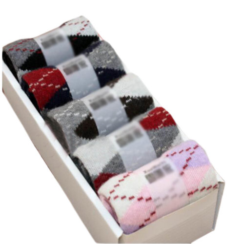 5 Pairs Women Soft Socks Fall Winter Warm Socks Decent Gift-A07