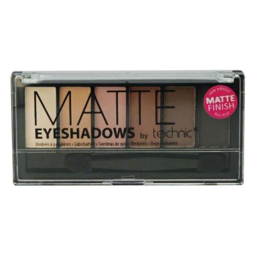 Technic Matte Eye shadows 6 Colours