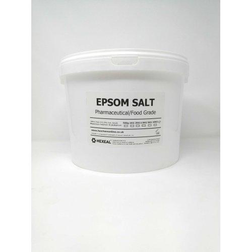 EPSOM SALT | 10KG BUCKET | Pharmaceutical | Food Grade