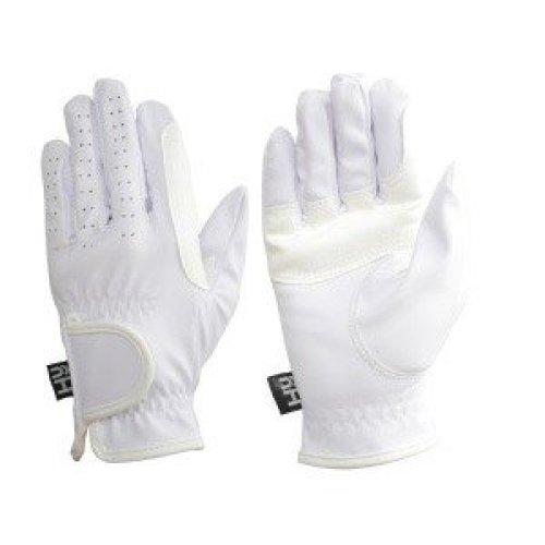 Hy5 Adults Synthetic Leather Riding Gloves