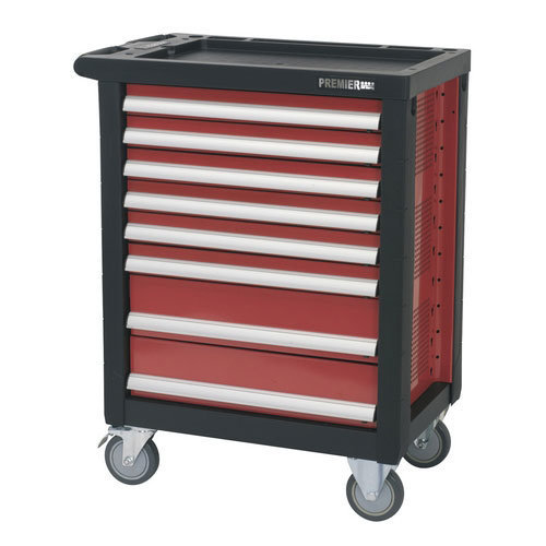 Sealey AP2408 8 Drawer Rollcab with Ball Bearing Runners