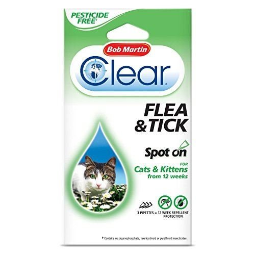 Bob Martin Clear Flea and Tick Spot On Cats