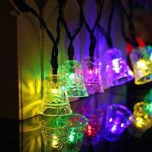 Christmas Bell Fairy LED String Light