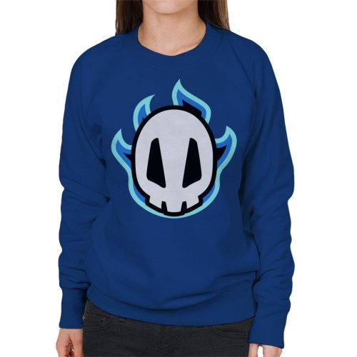 Bleach Skull Chibi Women's Sweatshirt