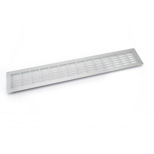 Aluminium Kitchen Plinth Ventilation Grill - 480 x 80mm