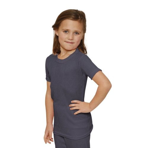 OCTAVE Girls Thermal Underwear Short Sleeve T-Shirt / Vest / Top