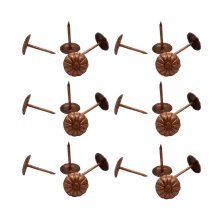 Creative Metal Push Pins/Sharp And Durable Pushpins/100 Pieces, Bronze