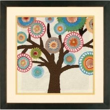 D72-73729 - Dimensions Handmade Embroidery - Tree