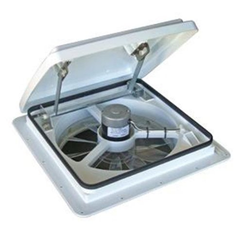 VENT 0004000K Roof Vent Manual Opening White