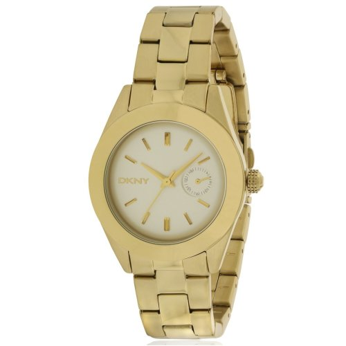 DKNY Jitney Gold-Tone Ladies Watch NY2132