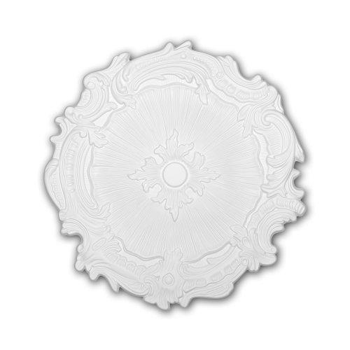 Profhome156051 Ceiling Rose Medallion Rosette Ceiling Decoration Ø 42.4 cm