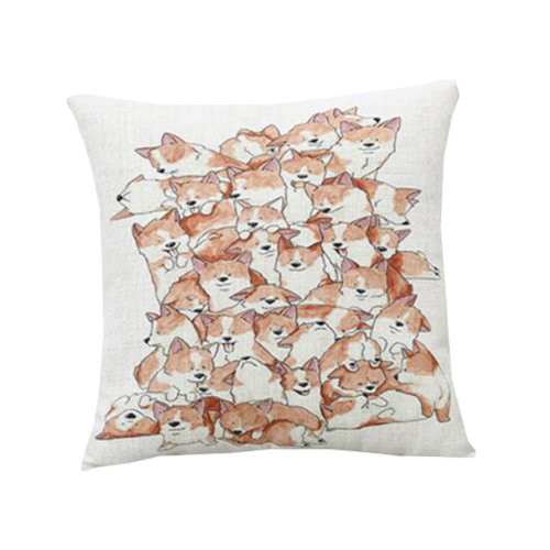 Cute Cartoon Cushion - Pet Dog