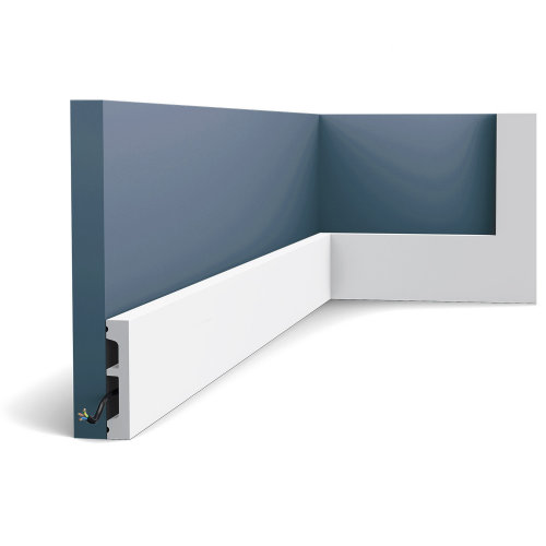 Orac Decor SX157 AXXENT SQUARE Skirting baseboard moulding panel moulding 2 m