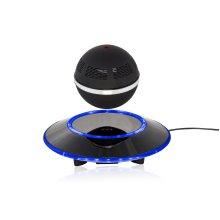 Wasserstein Levitating Bluetooth Speaker - Floating Wireless Speaker - Sci-Fi Speaker by (Black)