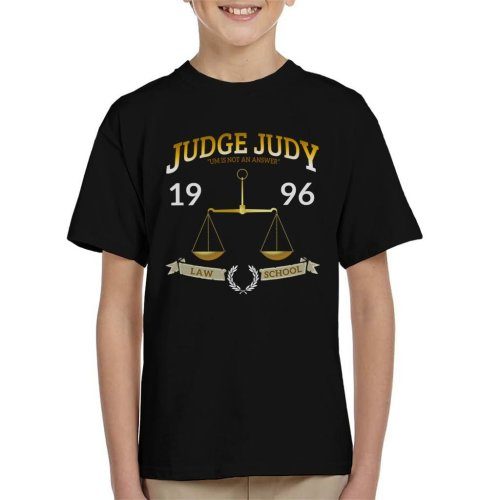 Judge Judy School Of Law Kid's T-Shirt