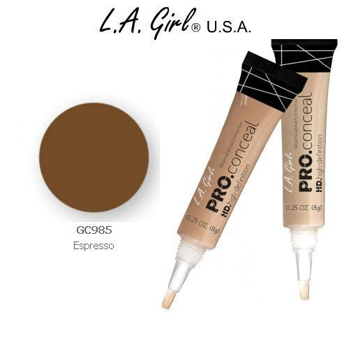 L.A. Girl Pro Conceal HD 985 Espresso (2 Pack)