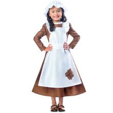 Kids Poor Victorian Girl Costume