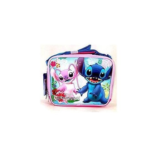 Lunch Bag - Disney - Lilo And Stitch Blue New 683696
