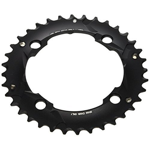 Sram 36T 10 Sp Bcd 104Mm 4 Bolt Outer Chainring For L Pin Gxp Aluminum Black