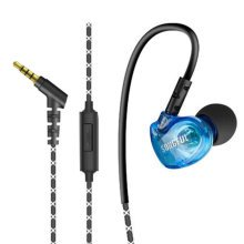 Sports Headset for Apple iPhone & Android Earbuds Noise Isolating Earphones