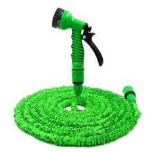 50ft Expandable Hose With Spray Gun | Stretch Garden Hose