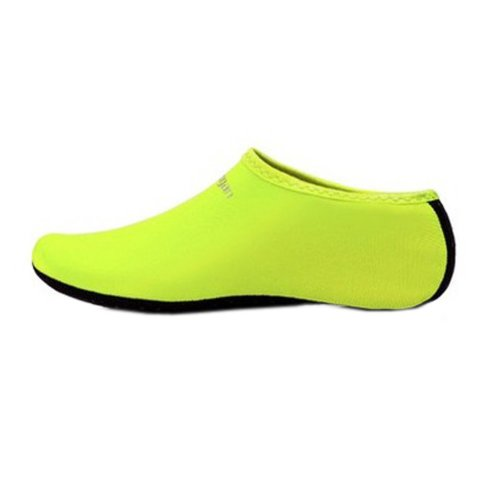 Sand Socks Water Skin Shoes Diving Socks,Green XXL