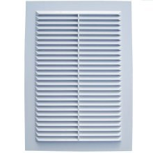 Air Vent Grille Cover White Ventilation Plastic Cover Various Sizes Shutter