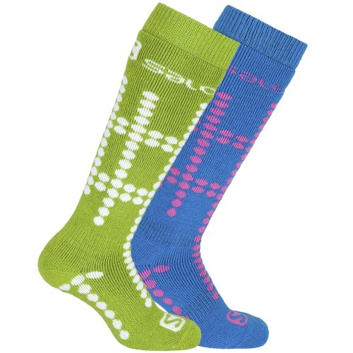 Salomon Childrens/Kids Team Junior 2 Reinforced Socks (Pack Of 2)