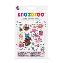 Snazaroo Assorted Temporary Tattoos - Girl
