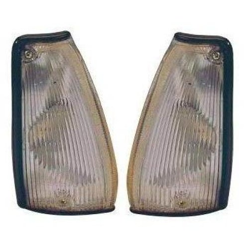 Nissan Micra K10 1988-1993 Clear Front Indicator Lights 1 Pair O/s & N/s