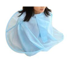 Child Kid Hair Cutting Cape Baby Styling Salon Waterproof Cloak, Blue