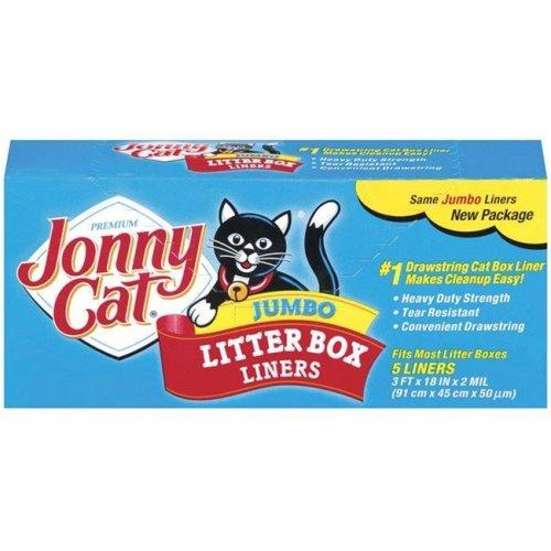 Oil-Dri 8300345 Jonny Cat Litter Box Liners - Pack of 5
