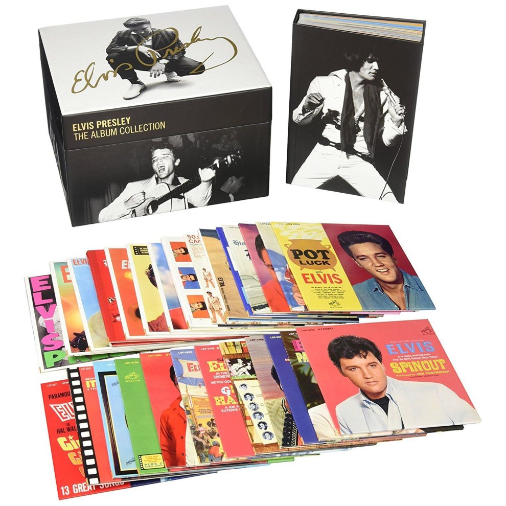 elvis presley the complete rca albums collection 60 cd box set on onbuy. Black Bedroom Furniture Sets. Home Design Ideas